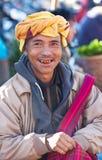 Pa-o stammensen, Myanmar Stock Foto