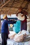 Pa-O tribe people, Myanmar stock photos