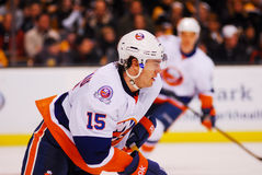 PA Parenteau New York Islanders. New York Islanders forward PA Parenteau #15 royalty free stock photo