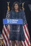 PA: Pierwszy dama Michelle Obama dla Hillary Clinton w Filadelfia Fotografia Royalty Free
