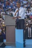 PA: President Barack Obama voor Hillary Clinton in Philadelphia Stock Foto's