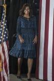 PA: Presidentsvrouw Michelle Obama voor Hillary Clinton in Philadelphia Stock Afbeelding