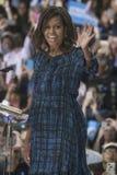 PA: Presidentsvrouw Michelle Obama voor Hillary Clinton in Philadelphia Royalty-vrije Stock Afbeeldingen