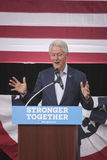 PA: Prezydent Bill Clinton dla Hillary Clinton w Błękitnym Bell Obraz Stock