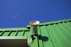 Free PA Public Address System Speaker Royalty Free Stock Image - 164133846