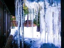 Pa?s das maravilhas do inverno fotografia de stock