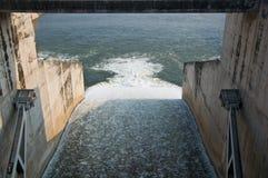Pa sak chonlasit水坝, Chainat,泰国 库存图片