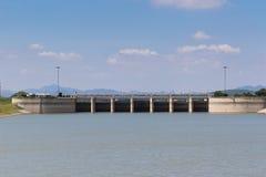 Pa Sak Jolasid Dam Royalty Free Stock Photo