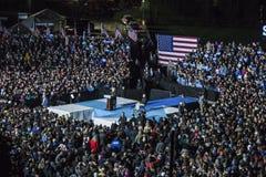 PA : Secrétaire Hillary Clinton et sénateur Tim Kaine Campaign Rally à Philadelphie Photos libres de droits