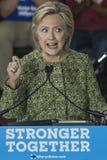 PA: Secretaresse Hillary Clinton Campaigns Rally in Philadelphia Stock Fotografie