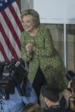PA: Secretaresse Hillary Clinton Campaigns Rally in Philadelphia Stock Afbeelding
