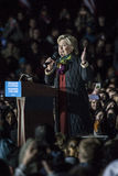 PA: Secretaresse Hillary Clinton & Senator Tim Kaine Campaign Rally in Philadelphia Royalty-vrije Stock Afbeelding
