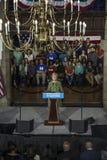 PA: Sekretarki Hillary Clinton kampanii wiec w Filadelfia Zdjęcia Royalty Free