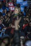 PA: Sekretarki Hillary Clinton & senatora Tim Kaine kampanii wiec w Filadelfia Obraz Stock