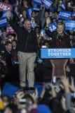 PA: Sekretarki Hillary Clinton & senatora Tim Kaine kampanii wiec w Filadelfia Zdjęcia Royalty Free