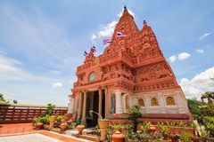PA SIRI WATTANA WISUT, NAKHON SAWAN, Tailandia di WAT Immagini Stock Libere da Diritti