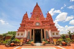 PA SIRI WATTANA WISUT, NAKHON SAWAN, Tailandia di WAT Immagine Stock