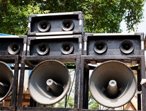 PA speaker Royalty Free Stock Photo