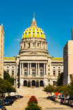 PA State Capitol Building in Harrisburg Royalty Free Stock Images