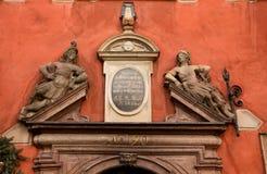 państwa gamla Stockholm drzwi Obrazy Stock