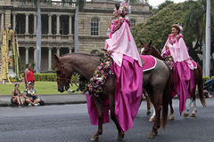Pa`u Rider Royalty Free Stock Photo