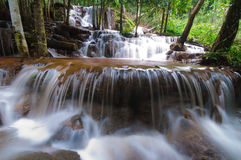 Pa wai waterfall Royalty Free Stock Images