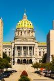 PA-Zustands-Kapitol-Gebäude in Harrisburg Lizenzfreie Stockbilder