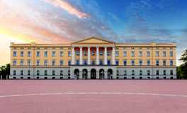 Pałac królewski w Oslo, Norwegia Zdjęcie Stock