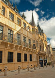 Pałac Luksemburg Fotografia Royalty Free