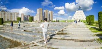 Pałac pokój i pojednanie w Astana mieście Fotografia Royalty Free