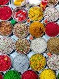 Paan Mashala,蒋酱之叶叶子的嘴清凉剂 免版税图库摄影