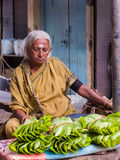 Paan Vendor Stock Photo