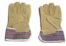 Paar beschermende handschoenen Royalty-vrije Stock Afbeelding
