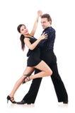 Paar dansers Royalty-vrije Stock Foto's