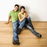 Paar in huis. Royalty-vrije Stock Foto