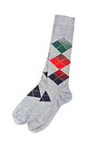 Paar kleurrijke sokken royalty-vrije stock afbeeldingen
