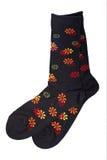Paar kleurrijke sokken royalty-vrije stock fotografie