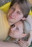 Paar in liefde royalty-vrije stock afbeeldingen