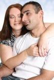 Paar in liefde het besteden tijd samen royalty-vrije stock foto
