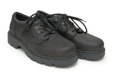 Paar mannelijke laarzen stock foto