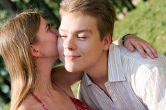 Paar, mannen, vrouwen Stock Foto's
