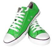 Paar nieuwe tennisschoenen Stock Foto