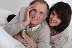 Paar op middelbare leeftijd Royalty-vrije Stock Foto's