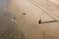 Paar op strand Royalty-vrije Stock Afbeelding