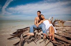 Paar op vakantie Royalty-vrije Stock Foto