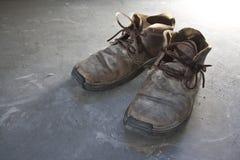 Paar oude schoenen Stock Fotografie