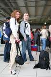 Paar in reis Stock Fotografie