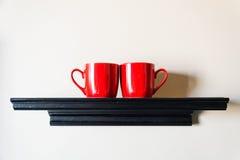 Paar rode kop Royalty-vrije Stock Foto's