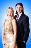 Paar in romantisch Royalty-vrije Stock Afbeelding