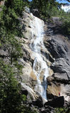 Paar ` s selfie in Shannon Falls, Squamish, Brits Colombia Royalty-vrije Stock Afbeelding